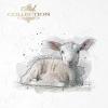 Rice paper set ITD - RSM001 * animals: sheep, goat * Reispapierset ITD - RSM001 * Tiere: Schaf, Ziege