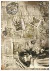 Creative Set auf Reispapier - Vintage-Stil*Conjunto creativo en papel de arroz - estilo vintage*Креативный набор на рисовой бумаге - винтажный стиль