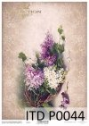 papier decoupage kwiaty, kompozycje kwiatowe*paper decoupage flowers, flower arrangements