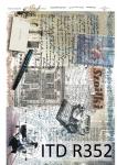 рисовая бумага для декупажа R0352