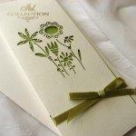 Einladungskarten / Hochzeitskarte 01729_56_hellgrün