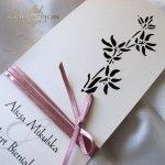 Einladungskarten / Hochzeitskarte 01722_66_marineblau