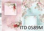 Decoupage paper ITD D0589M