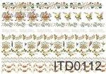 Decoupage paper ITD 0112M