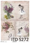 Decoupage paper Soft ITD S0272