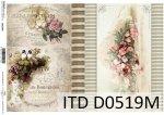 Decoupage paper ITD D0519M