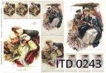Decoupage paper ITD D0243