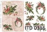 Decoupage paper ITD D0316M