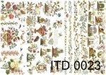 Decoupage paper ITD D0023