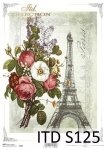 Decoupage paper Soft ITD S0125