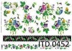 Decoupage paper ITD D0452