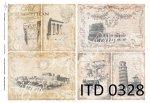Decoupage paper ITD D0328