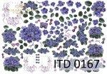Decoupage paper ITD D0167