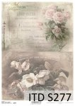 Decoupage paper Soft ITD S0277