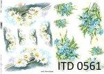 Decoupage paper ITD D0561