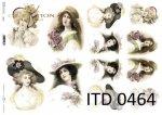 Decoupage paper ITD D0464M