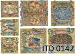 Decoupage paper ITD D0142