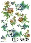 Decoupage paper Soft ITD S0305