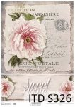 Decoupage paper Soft ITD S0326