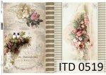 Papier decoupage ITD D0519