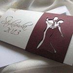 Zaproszenie studniówkowe ZS_73 z elegancką kopertą