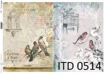 Papier decoupage ITD D0514