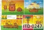 Papier decoupage ITD D0247