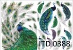 Papier decoupage ITD D0388M