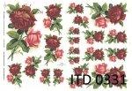 Papier decoupage ITD D0331