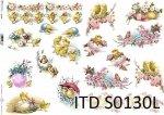 Papier decoupage SOFT ITD S0130L