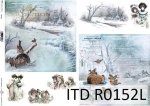 Papier ryżowy ITD R0152L