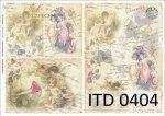 Papier decoupage ITD D0404M