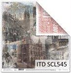 Papier scrapbooking SCL545