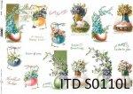 Papier decoupage SOFT ITD S0110L