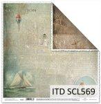 Papier scrapbooking SCL569