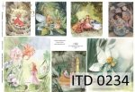 Papier decoupage ITD D0234
