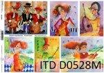 Papier decoupage ITD D0528M