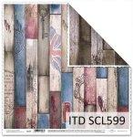 Papier scrapbooking SCL599