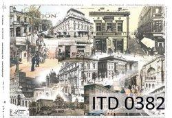 Papier decoupage ITD D0382M