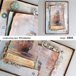 Kartka okolicznościowa Dla Taty - praca Asha