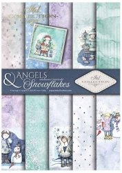 .Papier do scrapbookingu SCRAP-023 ''Angels & Snowflakes