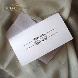 Zaproszenie studniówkowe ZS_69 z kopertą