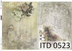 Papier decoupage ITD D0523