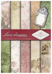 .Papier do scrapbookingu SCRAP-006 ''Lace dreams''