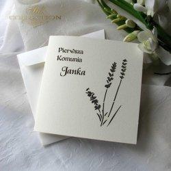 Zaproszenie komunijne 1732_004_lawenda