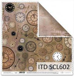 Papier scrapbooking SCL602
