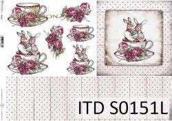 Papier decoupage SOFT ITD S0151L