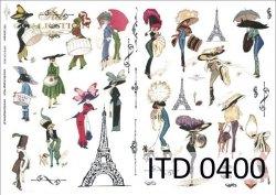 Papier decoupage ITD D0400