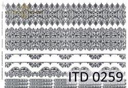 Papier decoupage ITD D0259M