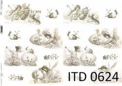 Papier decoupage ITD D0624
